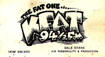Dale Evans business card