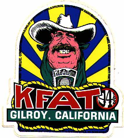 The Original KFAT bumper sticker