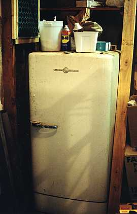 The original GE refrigerator