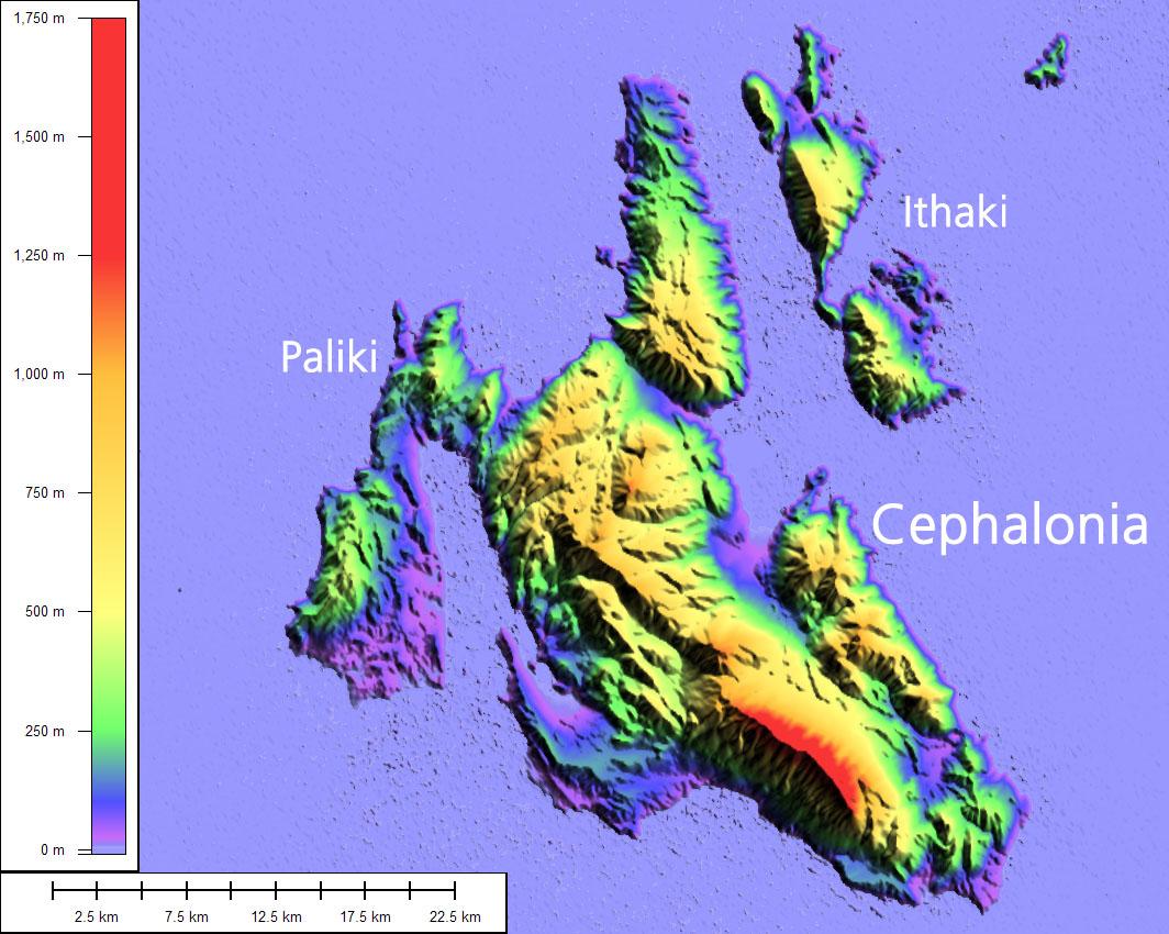 Paliki, Homer's Ithaca