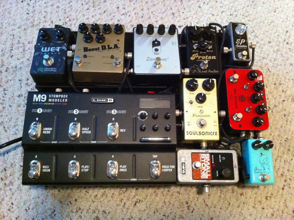Show Us Your Pedalboard 30 Page 9 The Gear Page