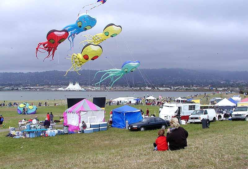 State Of Union >> Berkeley Kite Festival, Cesar Chavez Park, Berkeley Marina, North Basin Strip, Cavalia Circus ...